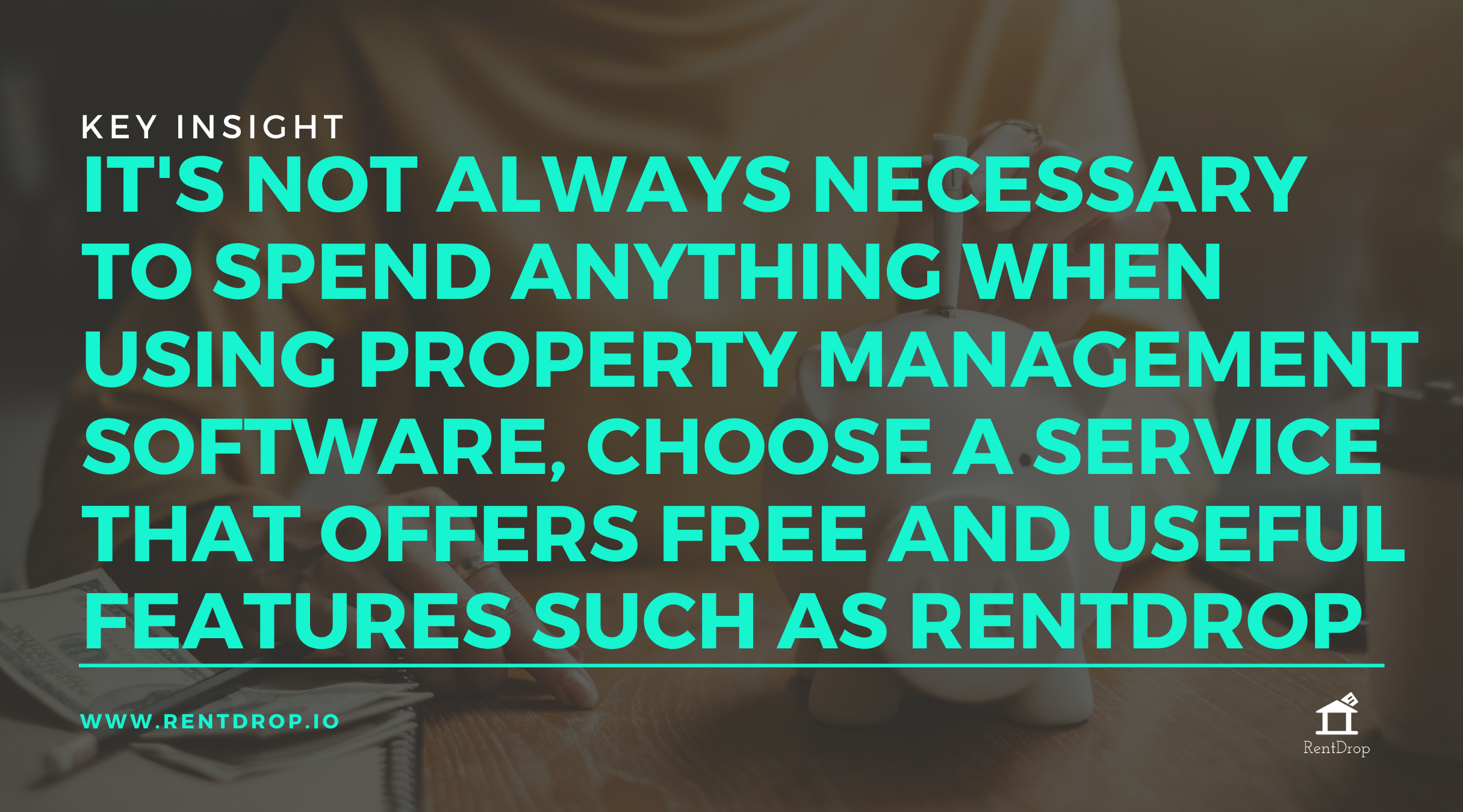 rentdrop property management software quote