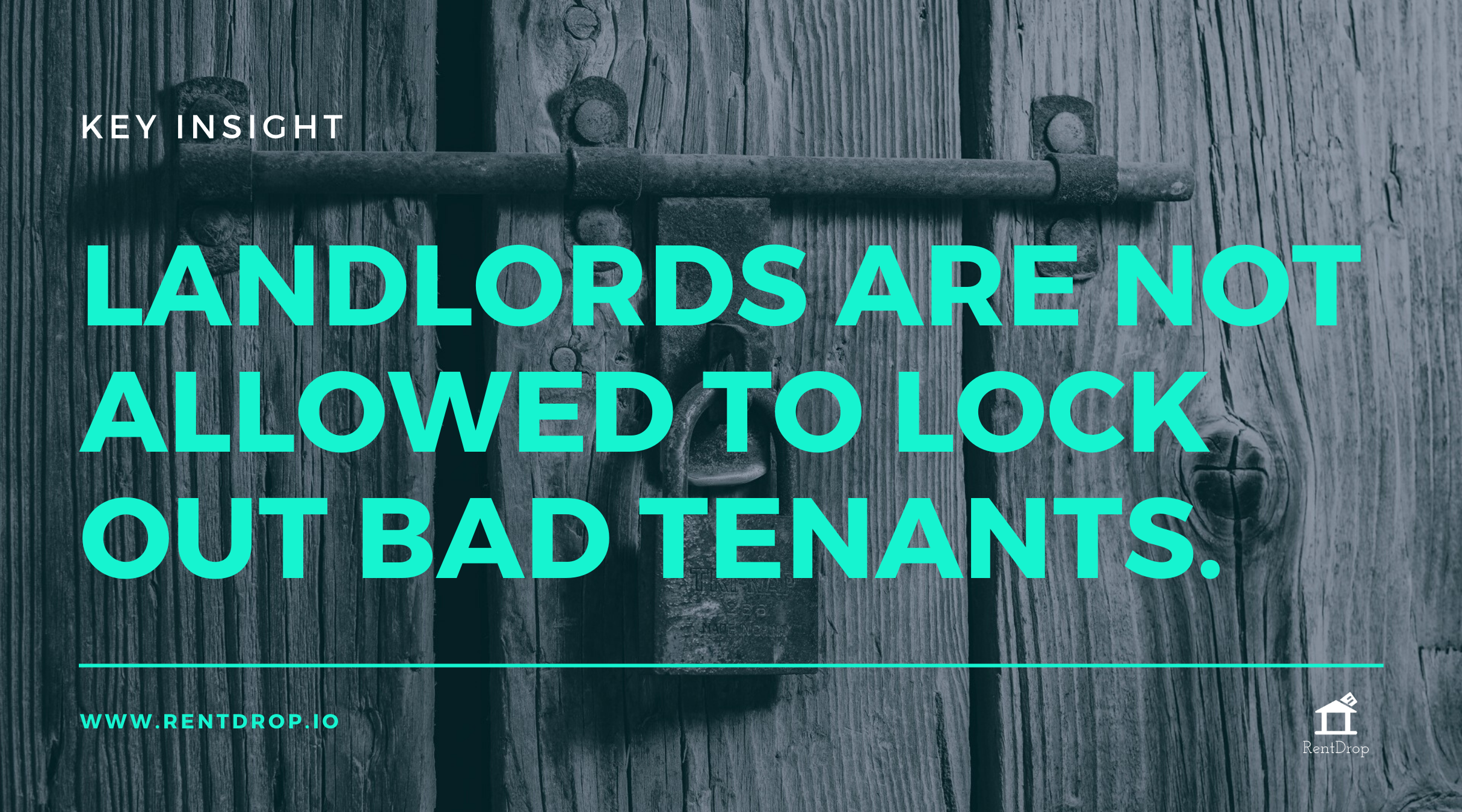 eviction myth landlord entry notice rentdrop