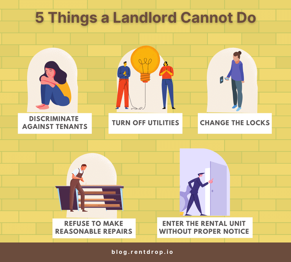 what a landlord cannot do rentdrop asset